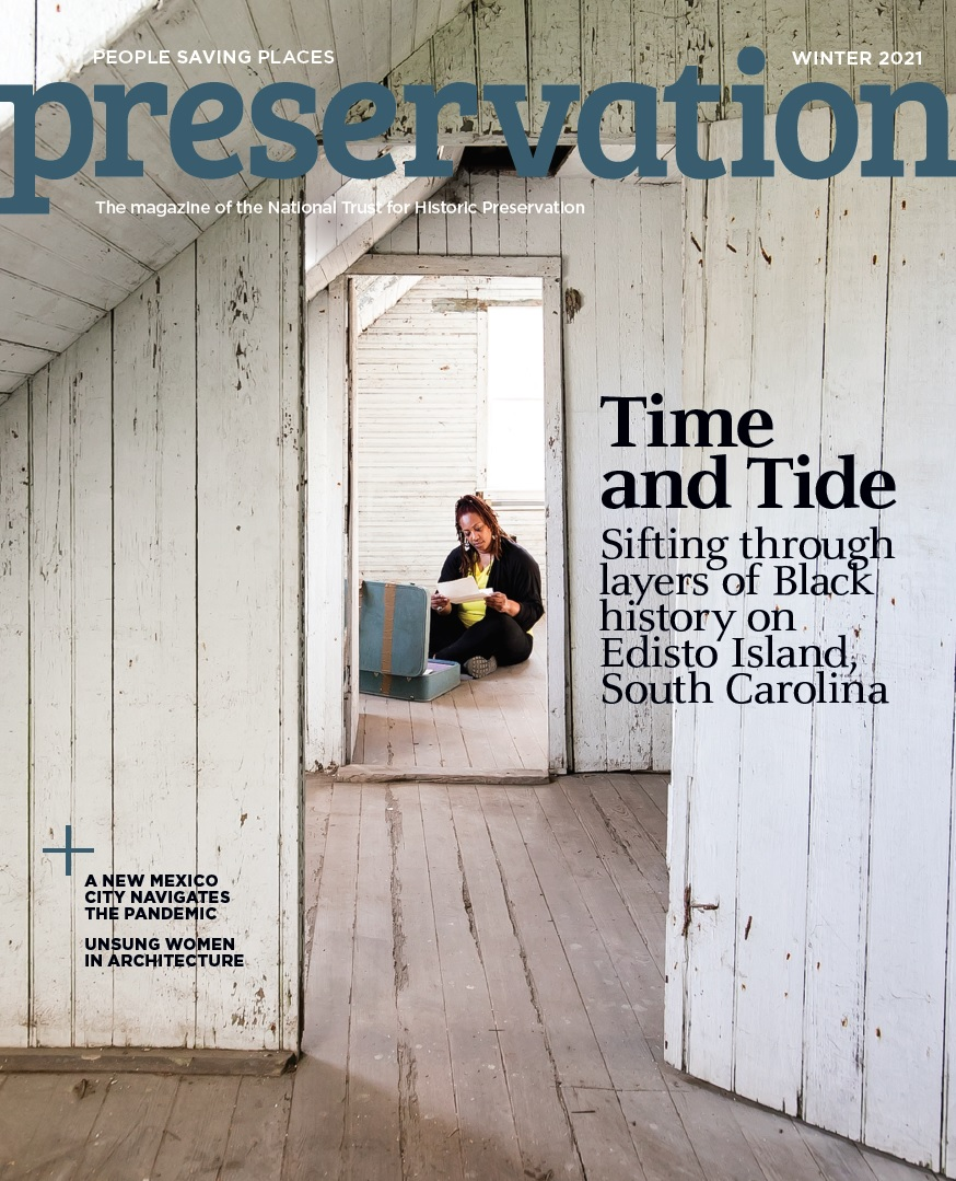 Hutchinson House featured in Preservation Magazine